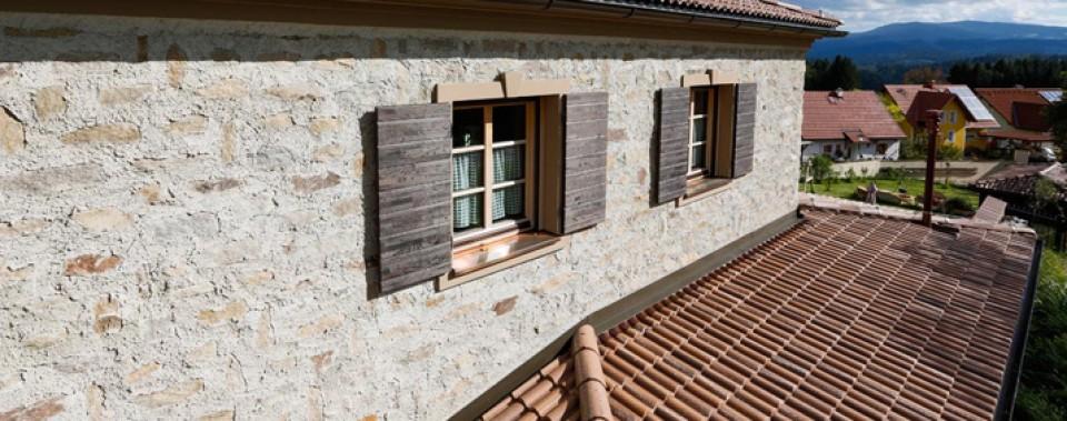 Einfamilienhaus mit Bramac Dachziegeln.